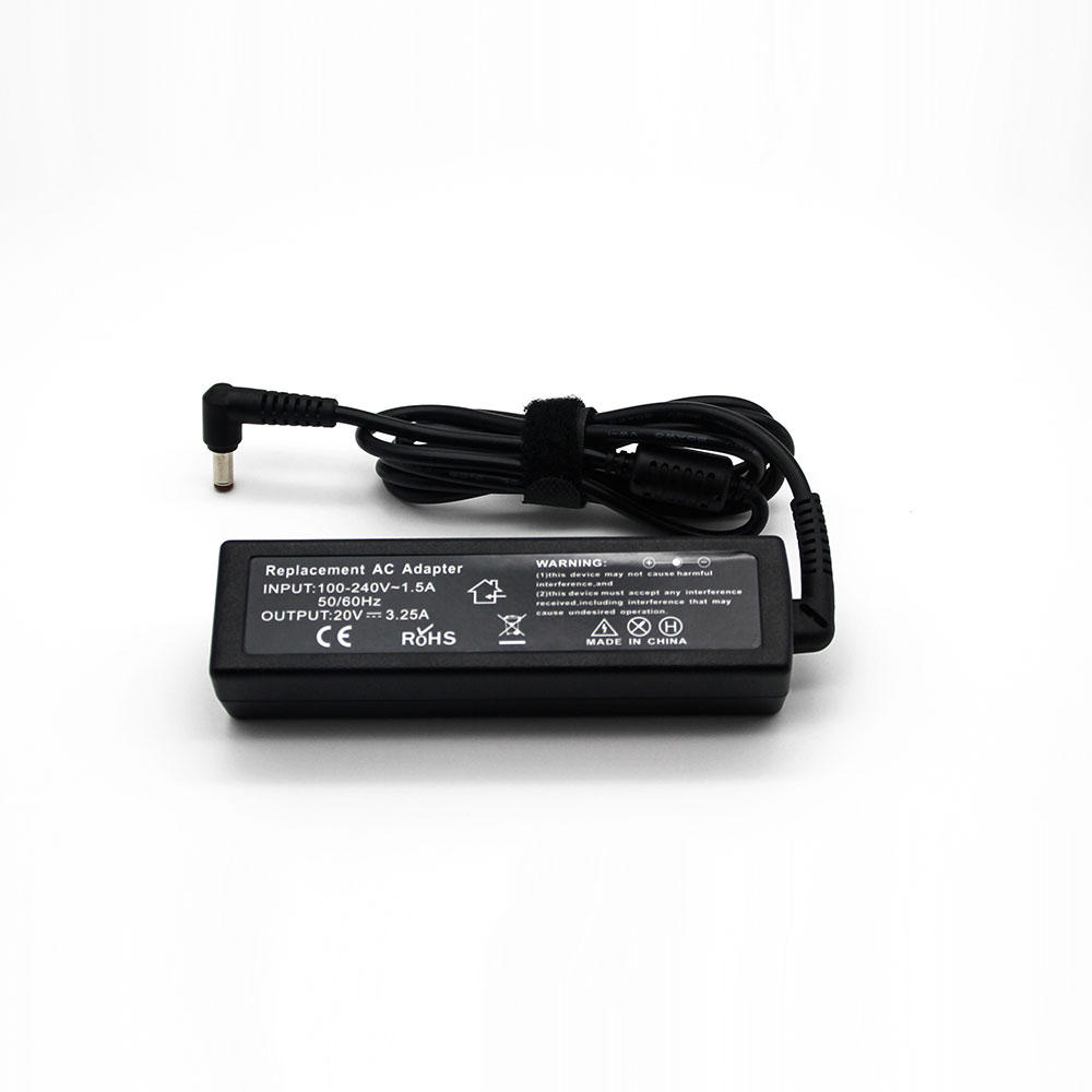 20V 65w 3.25A interface 5.5*2.5 notebook power adapter for Lenovo power 65W strip power charger Add the AC line