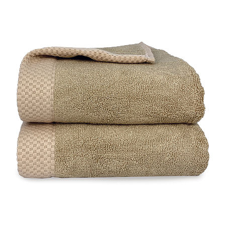 BedVoyage Resort Rayon from Bamboo Bath Towels, One Size , Beige