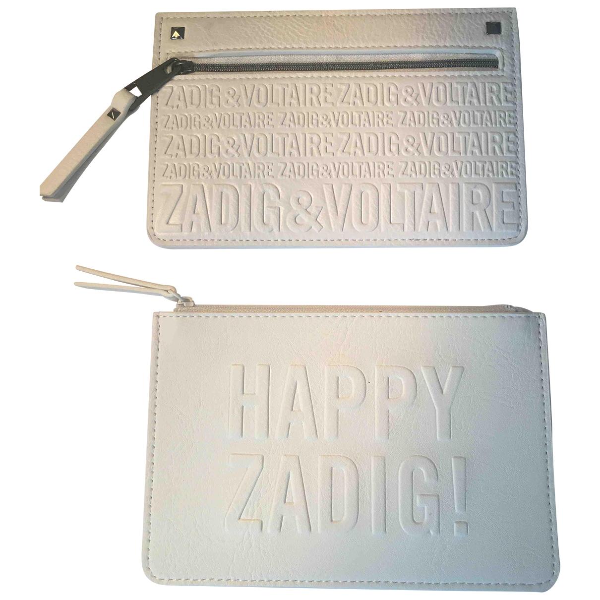 Zadig & Voltaire - Petite maroquinerie   pour homme - blanc