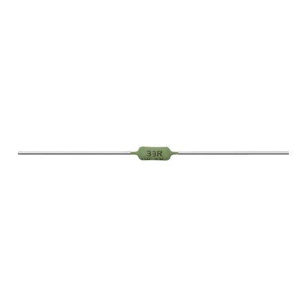 Vishay 100mΩ Wire Wound Resistor 1W ±5% AC01000001007JA100