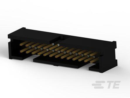 TE Connectivity , 5103309, 26 Way, 2 Row, Straight PCB Header (60)