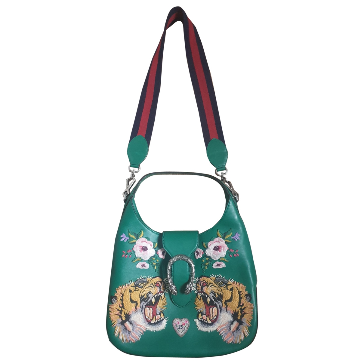 Gucci Dionysus Green Leather handbag for Women \N
