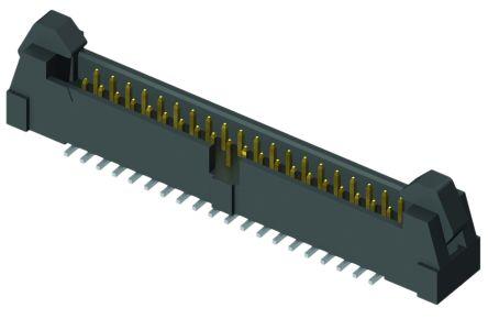 Samtec , EHT, 10 Way, 1 Row, Straight PCB Header (2)