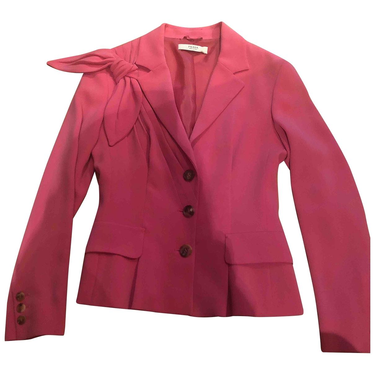 Prada \N Pink jacket for Women 40 IT