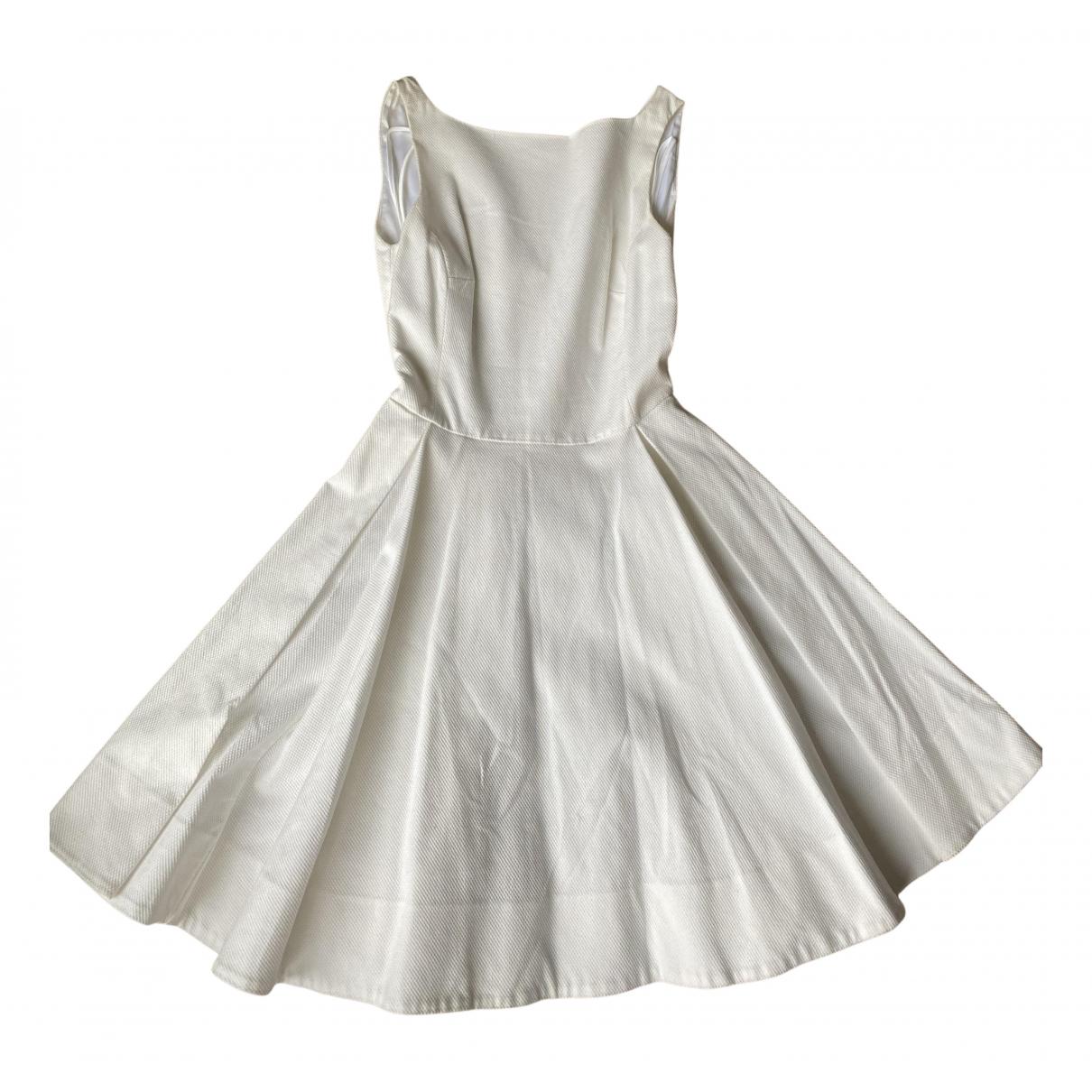 Polo Ralph Lauren - Robe   pour femme en coton - blanc