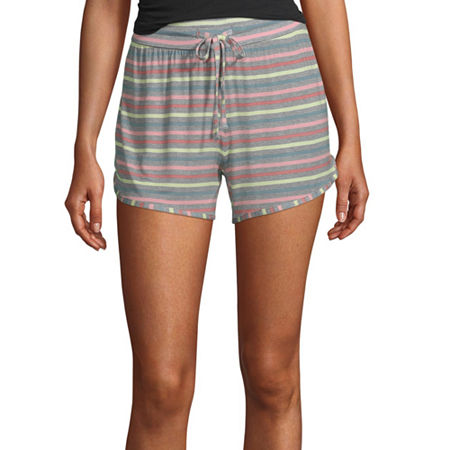 Ambrielle Womens Pajama Shorts, Large , Multiple Colors