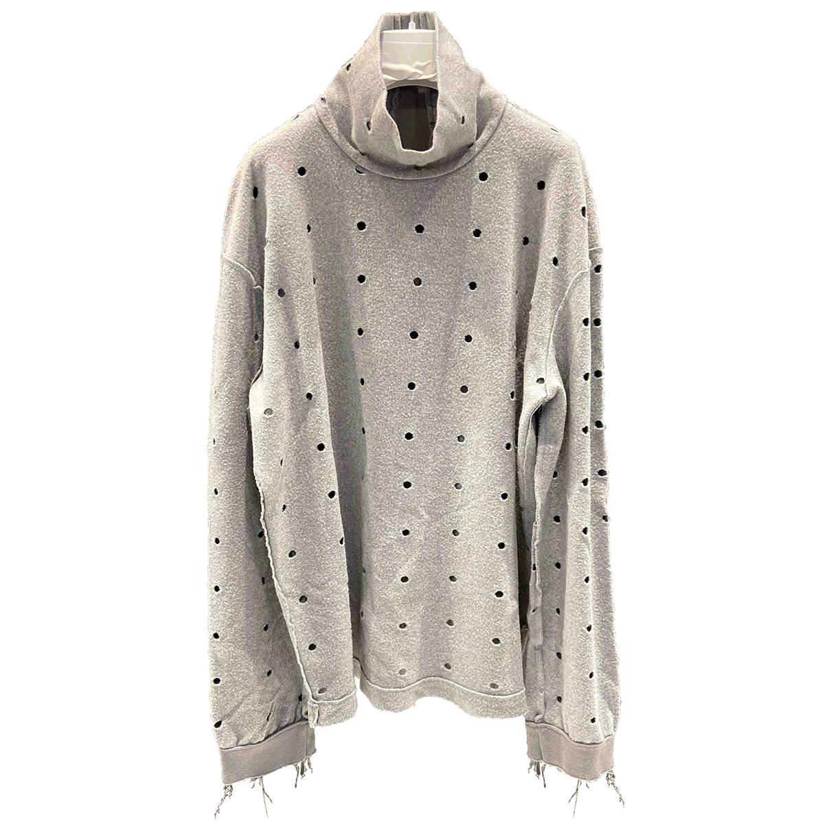 Damir Doma \N Pullover.Westen.Sweatshirts  in  Grau Wolle