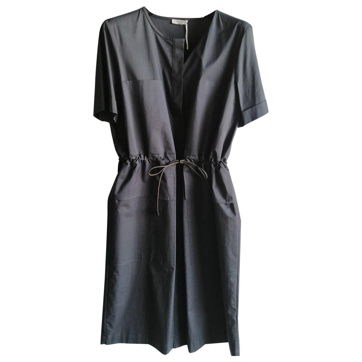Peserico - Robe   pour femme en coton - gris
