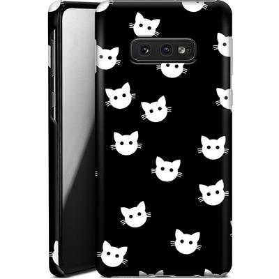 Samsung Galaxy S10e Smartphone Huelle - Cat Pattern von caseable Designs