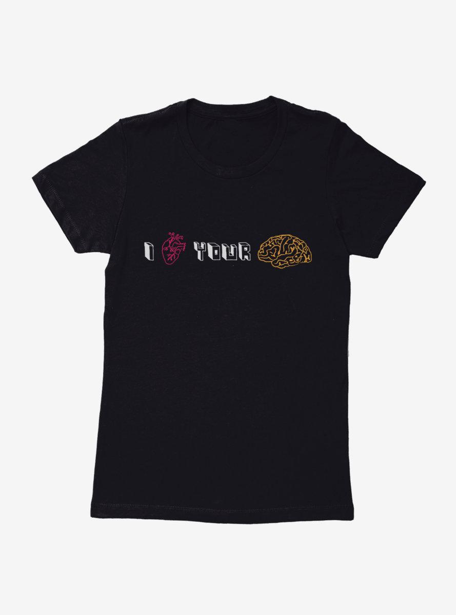 The Big Bang Theory I Heart Your Brain Womens T-Shirt