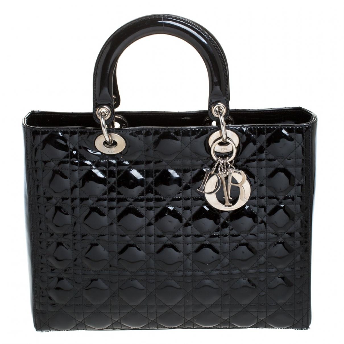 Cabas Lady Dior de Charol Dior
