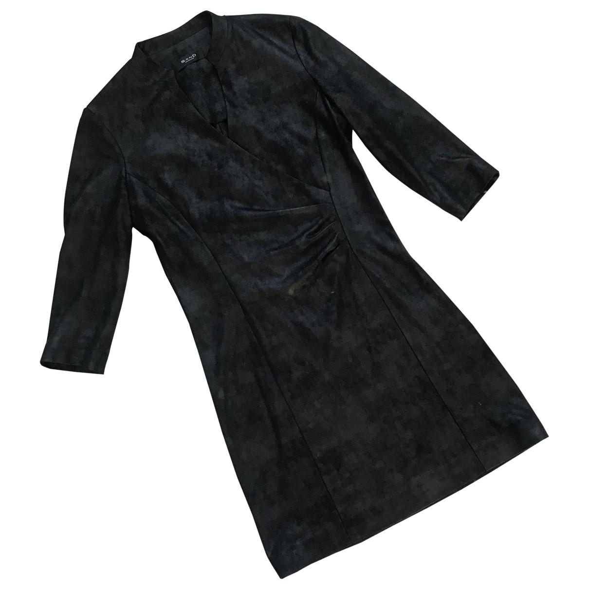 Sand \N Kleid in  Schwarz Polyester