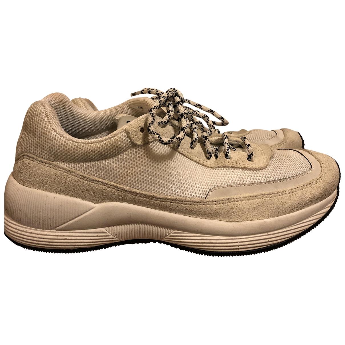 Apc - Baskets   pour femme - blanc
