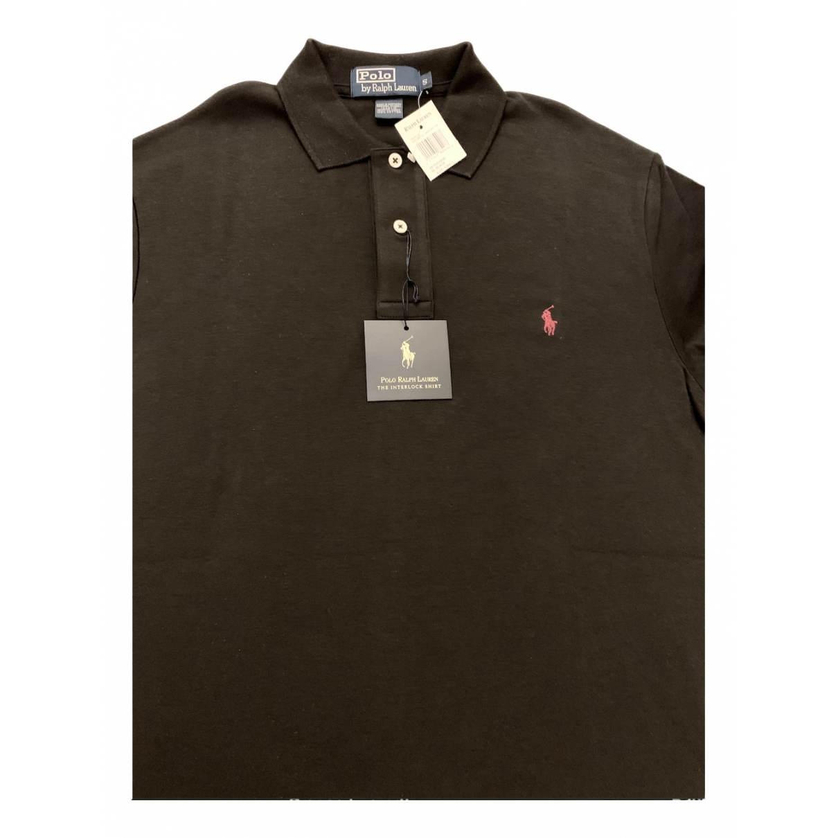 Polo Ralph Lauren Polo ajusté manches courtes Black Cotton Polo shirts for Men S International