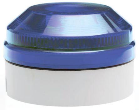 Moflash X 195 Blue Xenon Beacon, 180 → 250 V ac, Flashing, Surface Mount