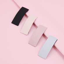 4pcs Plain Cloth Bobby Pin