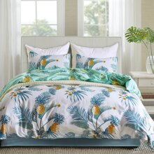 Pineapple Print Bedding Set Without Filler