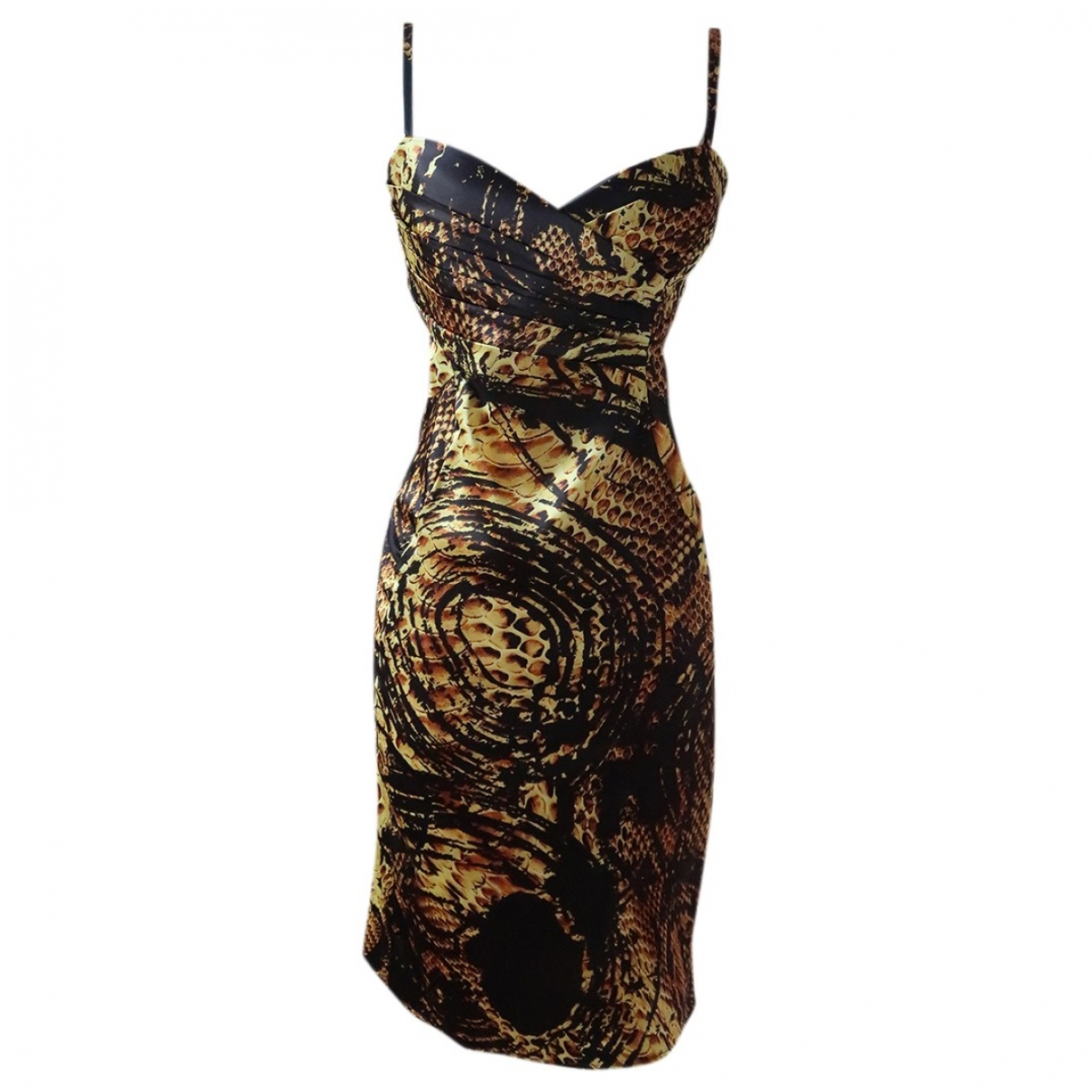 Just Cavalli \N Gold dress for Women 40 IT