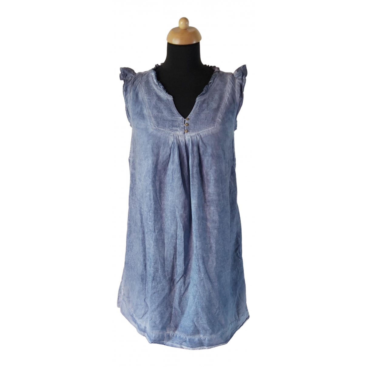 Maison Scotch \N Blue Cotton dress for Women M International