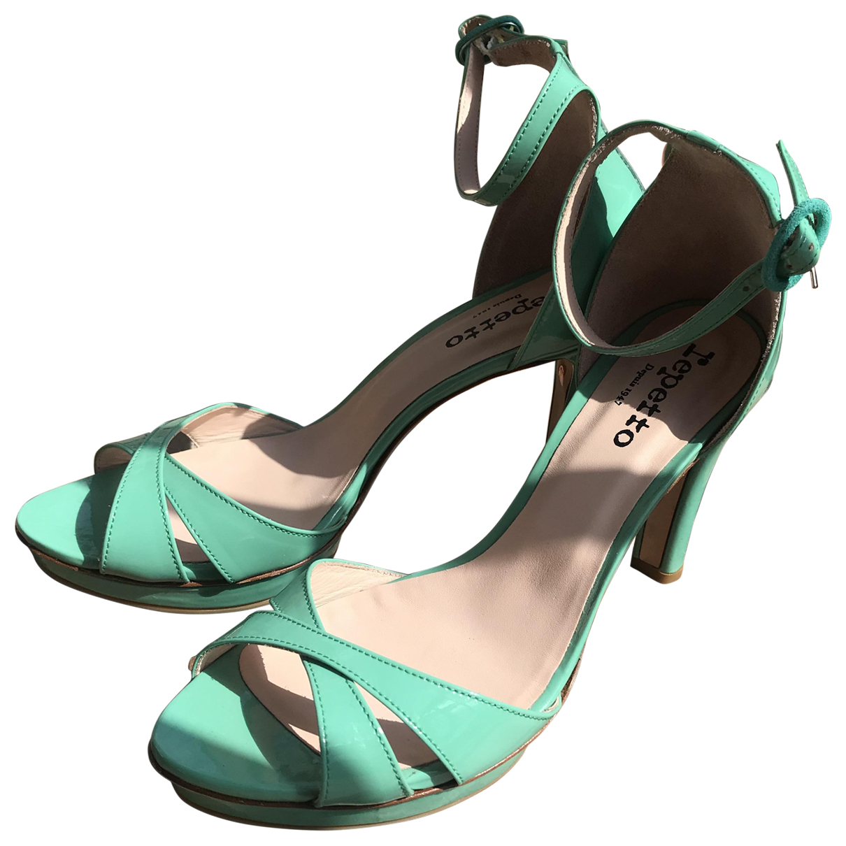 Sandalias de Charol Repetto