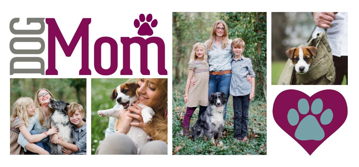 Pets 11 oz. Pink Accent Mug, Gift -Dog Mom