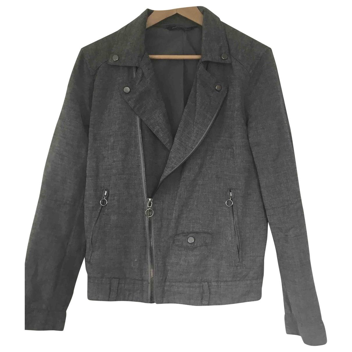 Zara \N Grey jacket  for Men M International