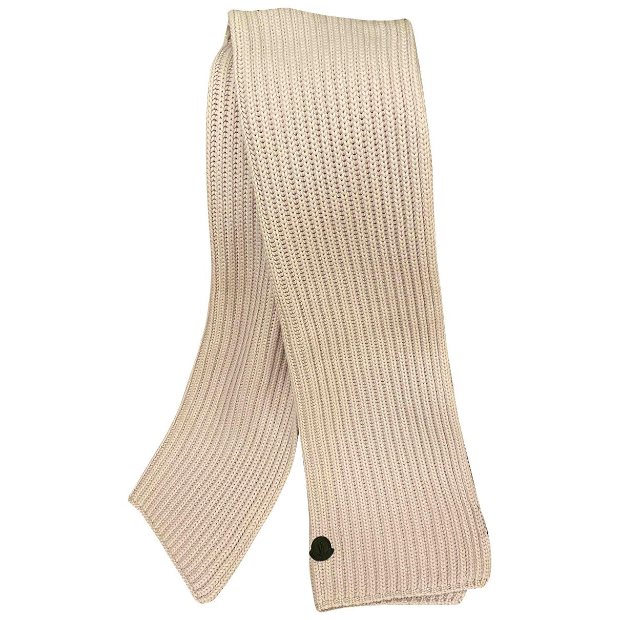 Moncler - Foulard   pour femme en laine - violet