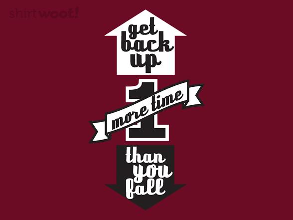 Get Back Up T Shirt