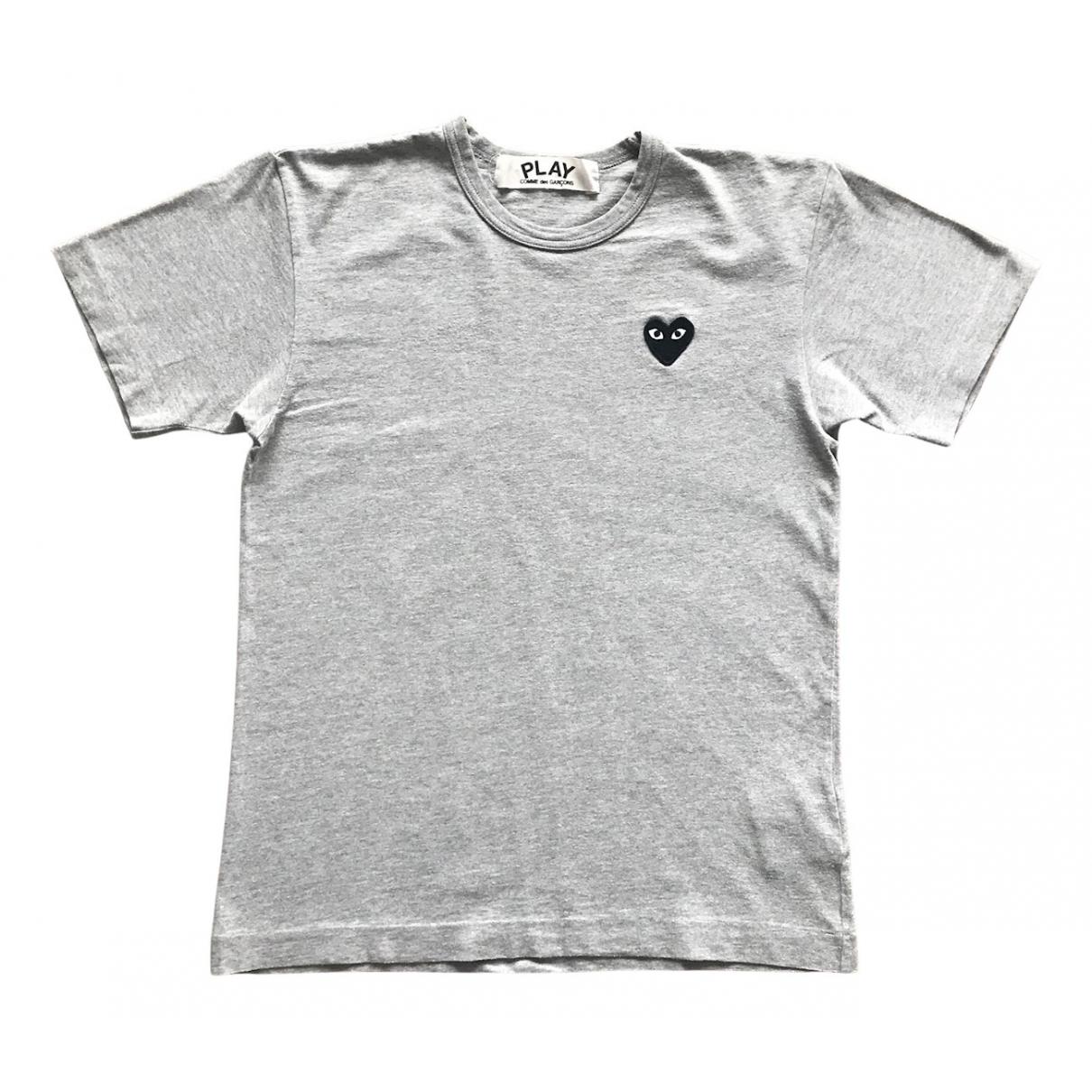 Play Comme Des Garcons - Tee shirts   pour homme en coton - gris