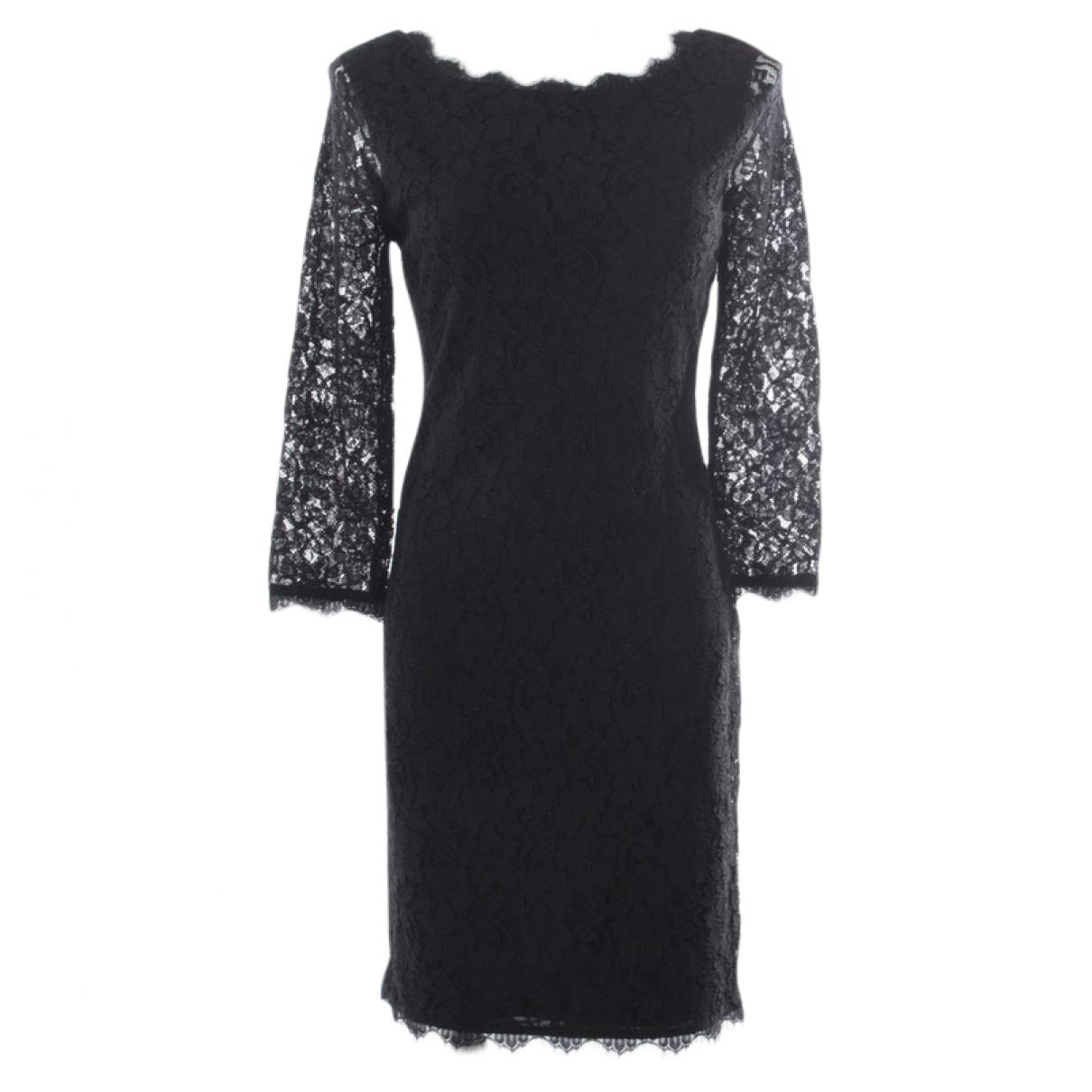 Diane Von Furstenberg \N Black dress for Women 36 FR