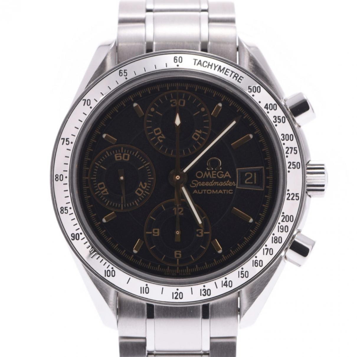 Omega Speedmaster Uhr in Stahl