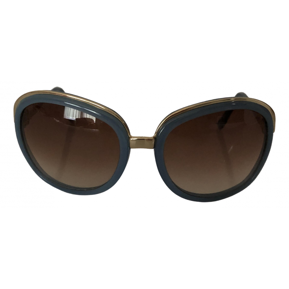 Balenciaga Paris D-Frame Blue Sunglasses for Women \N