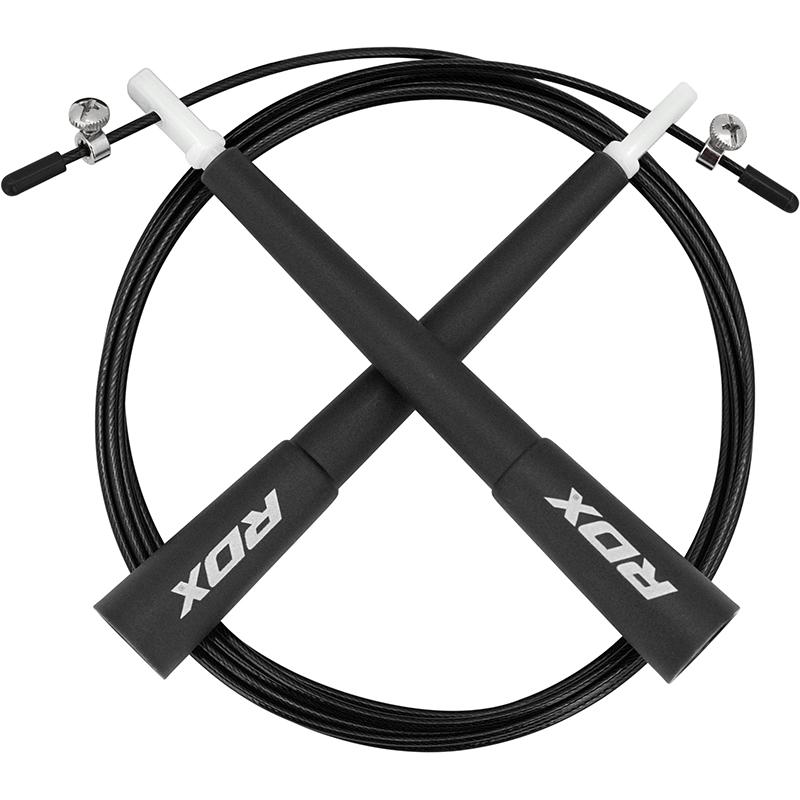 RDX C8 Cordes a sauter Noir Plastique