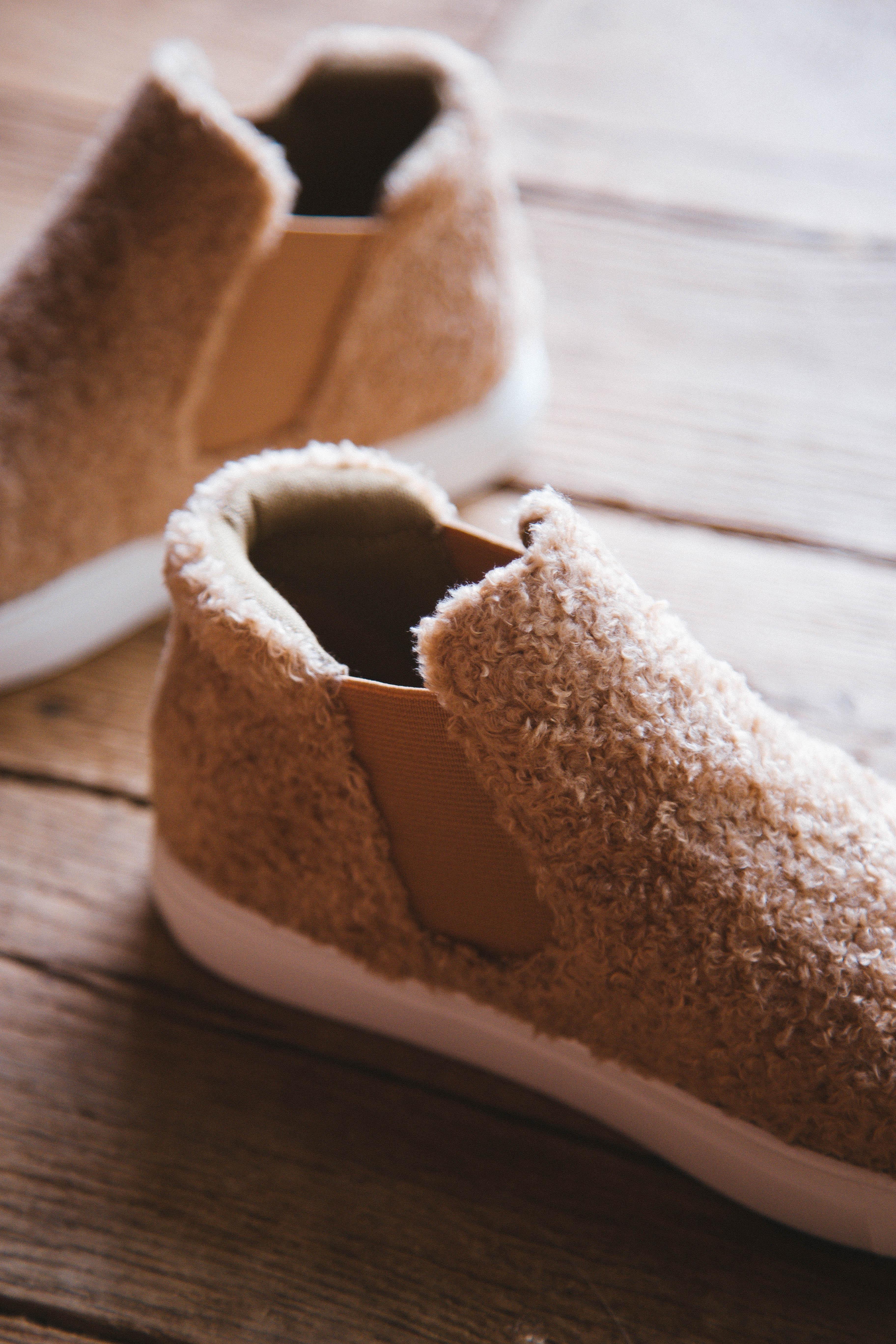 Harlan Slip On Sneaker Natural Teddy | Coconuts By Matisse