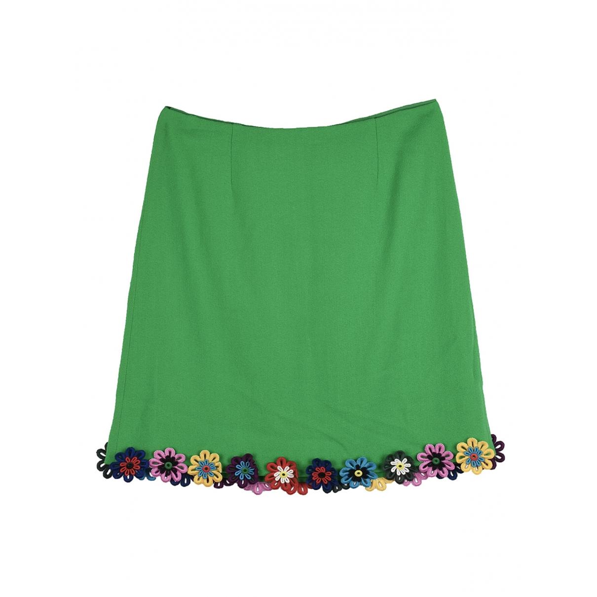 Mary Katrantzou - Jupe   pour femme en laine - vert
