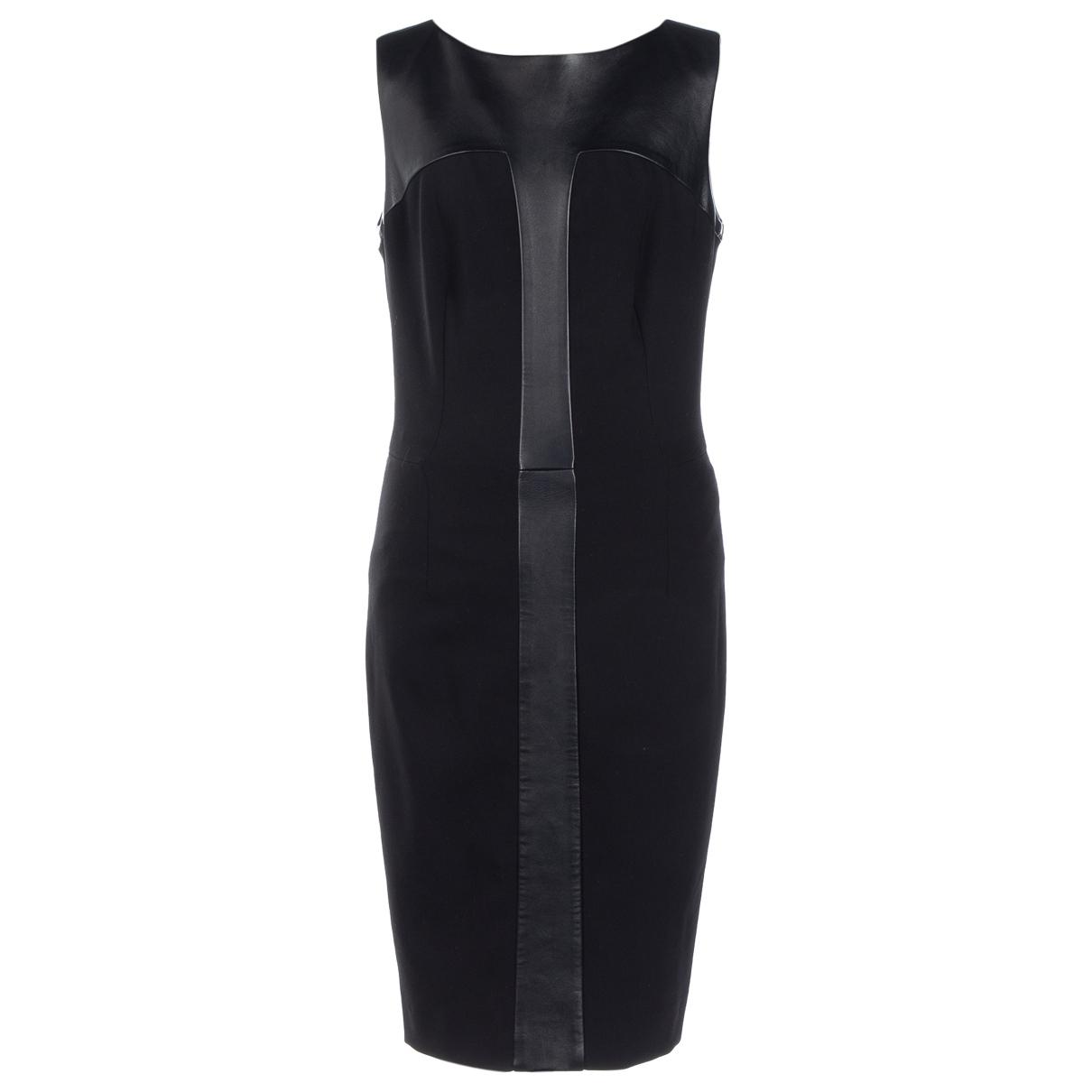 Yves Saint Laurent \N Kleid in  Schwarz Synthetik