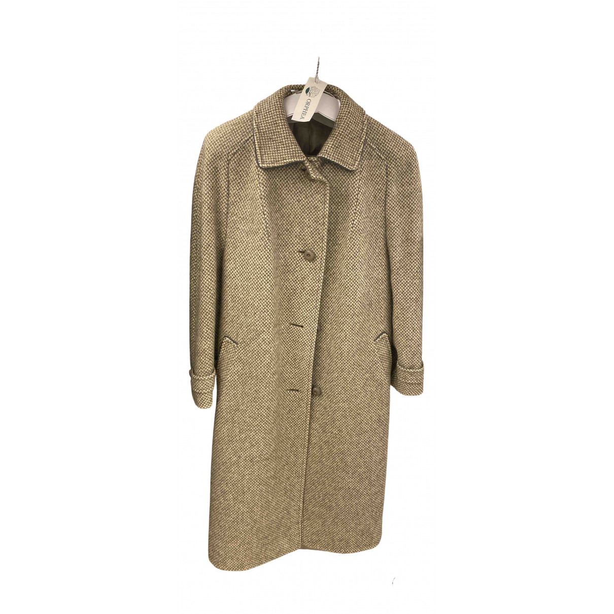 Non Signé / Unsigned N Grey Wool coat for Women 42 IT