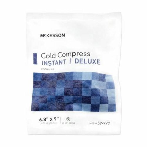 Instant Cold Pack McKesson Deluxe General Purpose Large 6.8 X 9 Inch Soft Cloth Disposable - 1 Each by McKesson