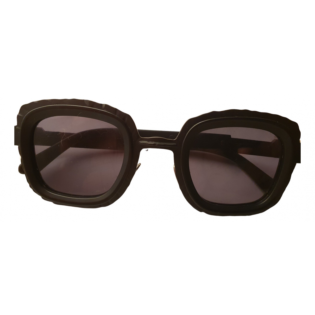 Kuboraum \N Black Sunglasses for Women \N