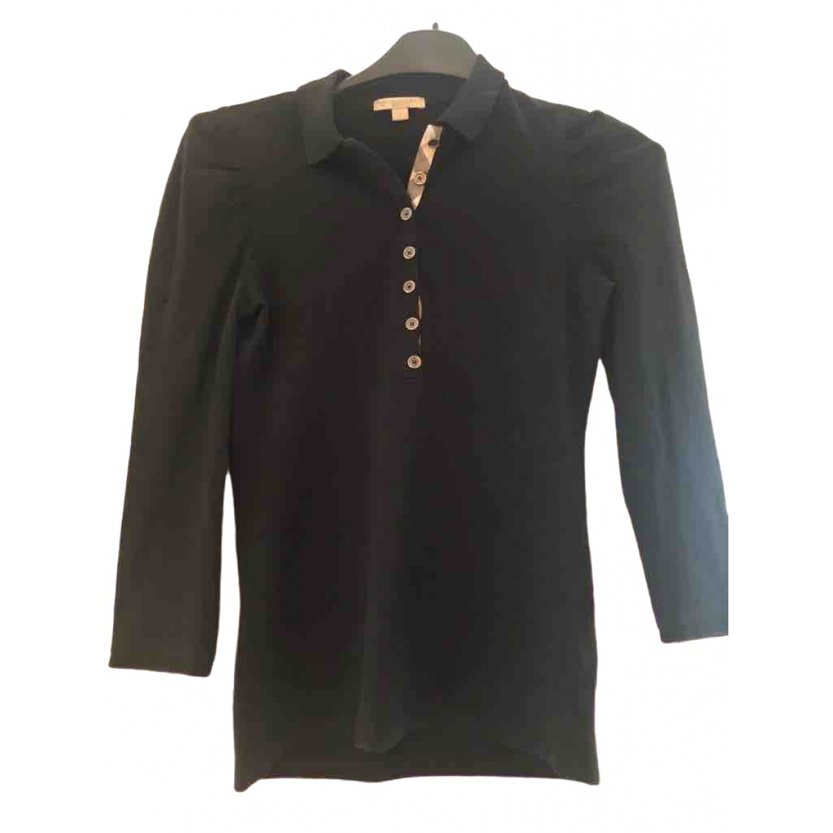 Burberry \N Black Cotton  top for Women S International