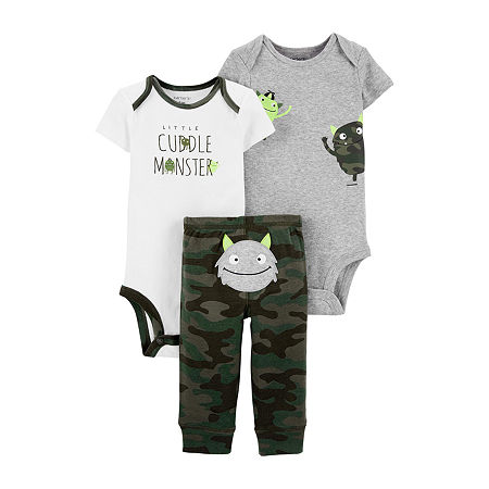 Carter's Baby Boys 3-pc. Clothing Set, 6 Months , Green
