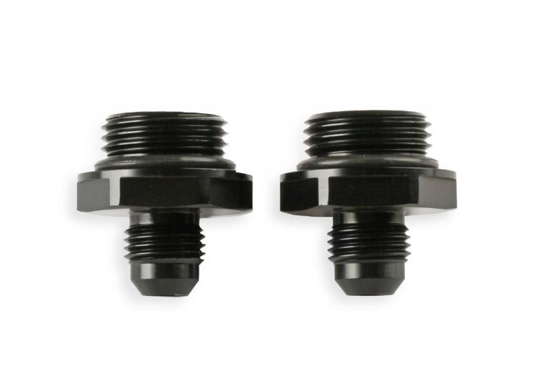 Earl's Performance AT585106ERL ADAPTER,-6AN TO OIL COOLER,2 PACK,BLACK