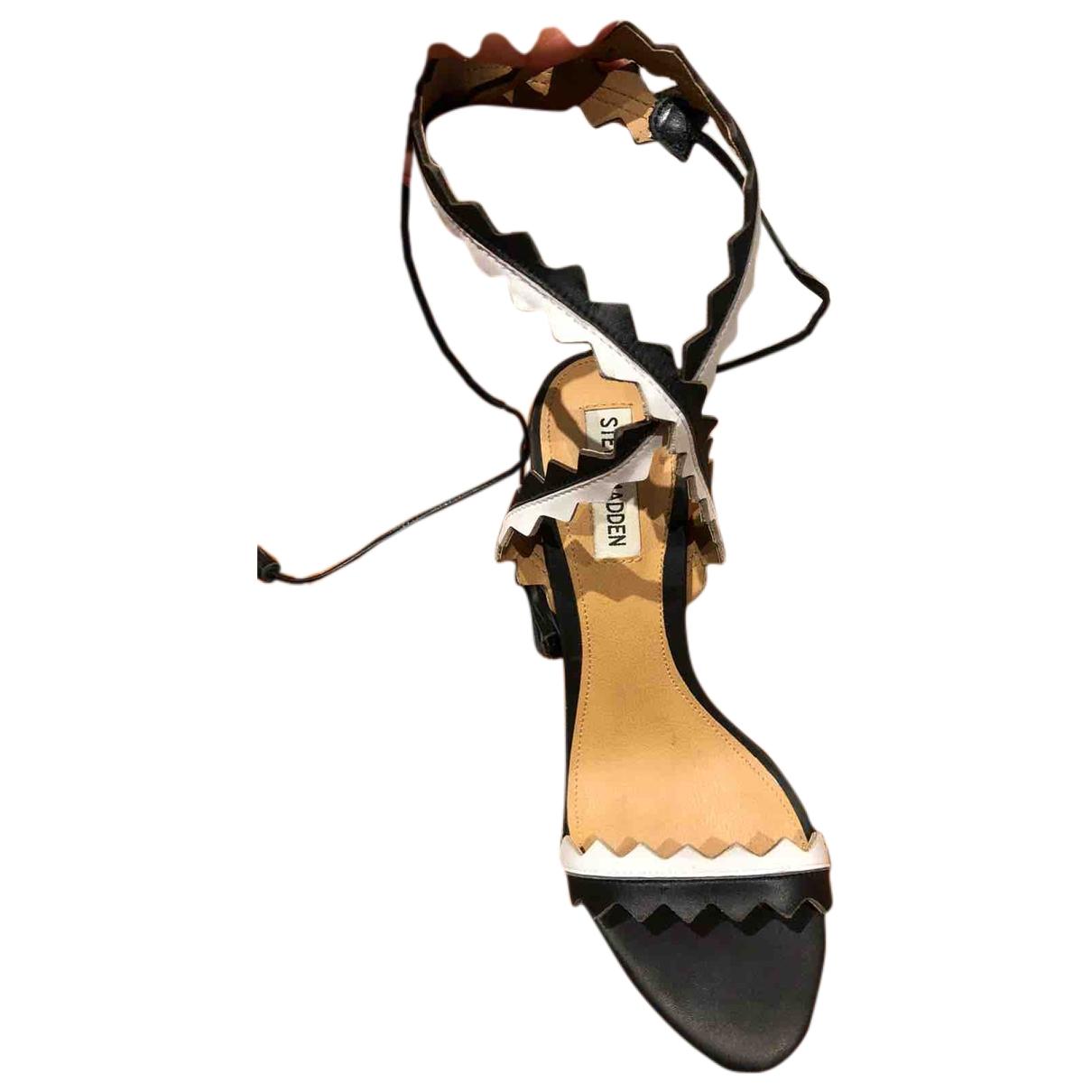 Steve Madden - Escarpins   pour femme en cuir - multicolore