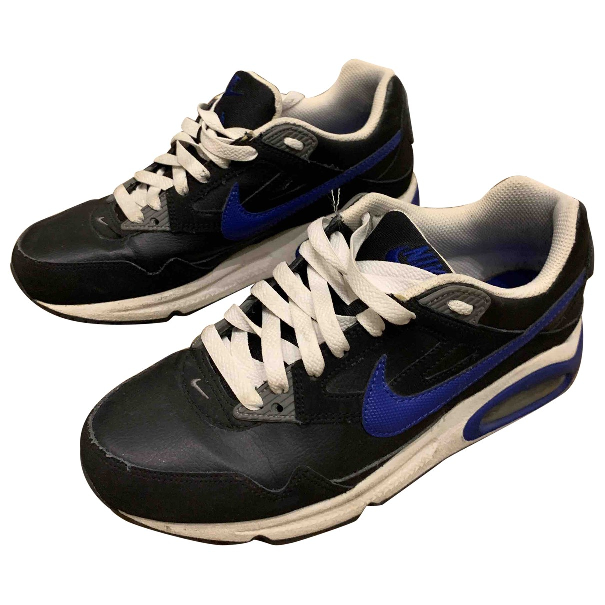 Nike Air Max  Sneakers in  Blau Leder