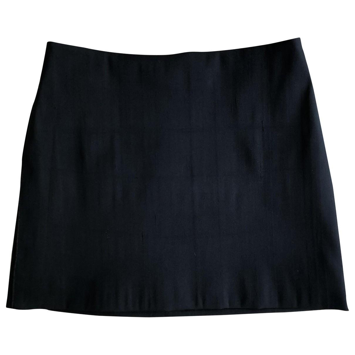 Nina Ricci - Jupe   pour femme en soie - marine