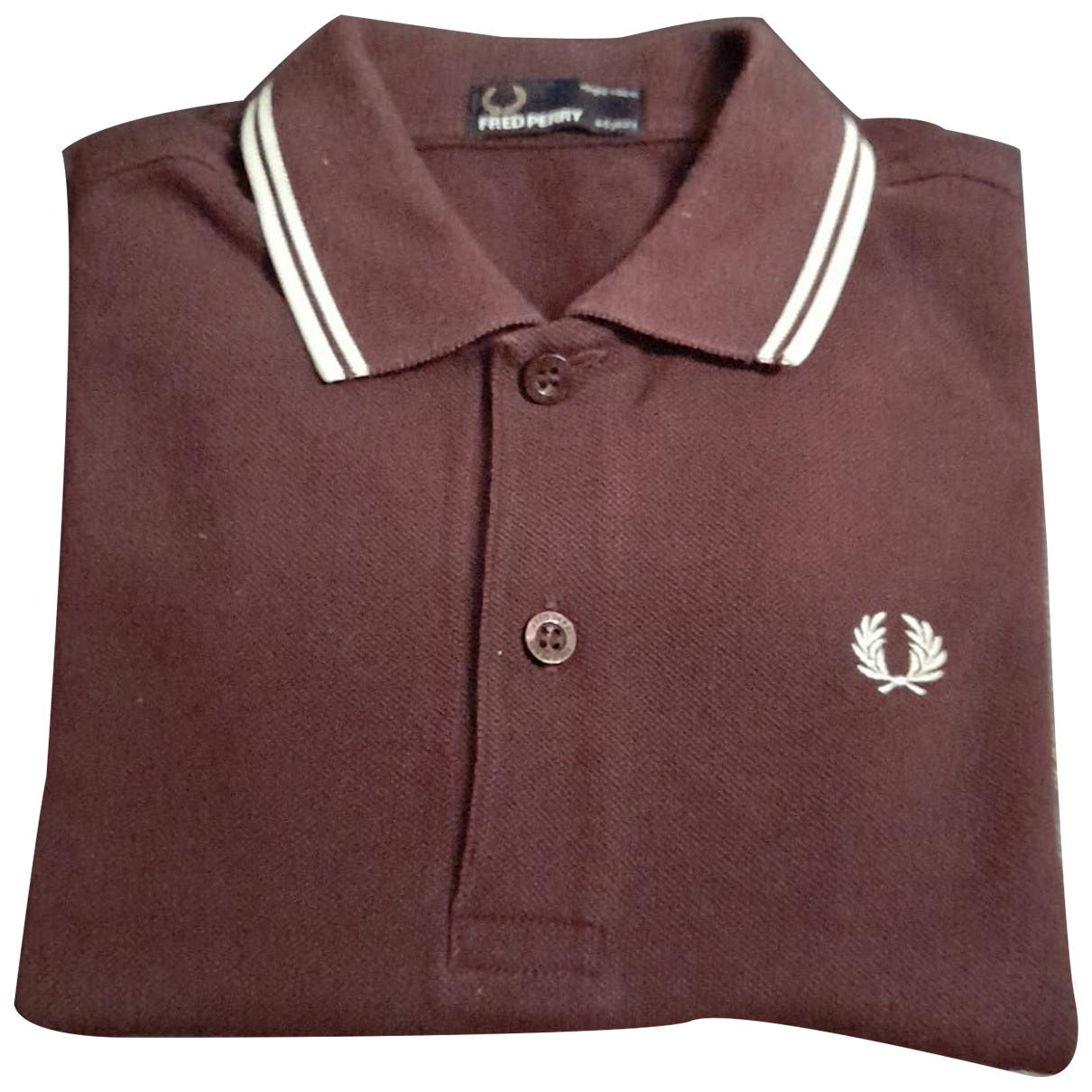 Fred Perry - Top   pour enfant en coton - violet