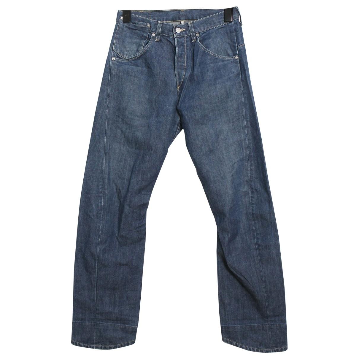 Levi's \N Blue Cotton Jeans for Men 33 US