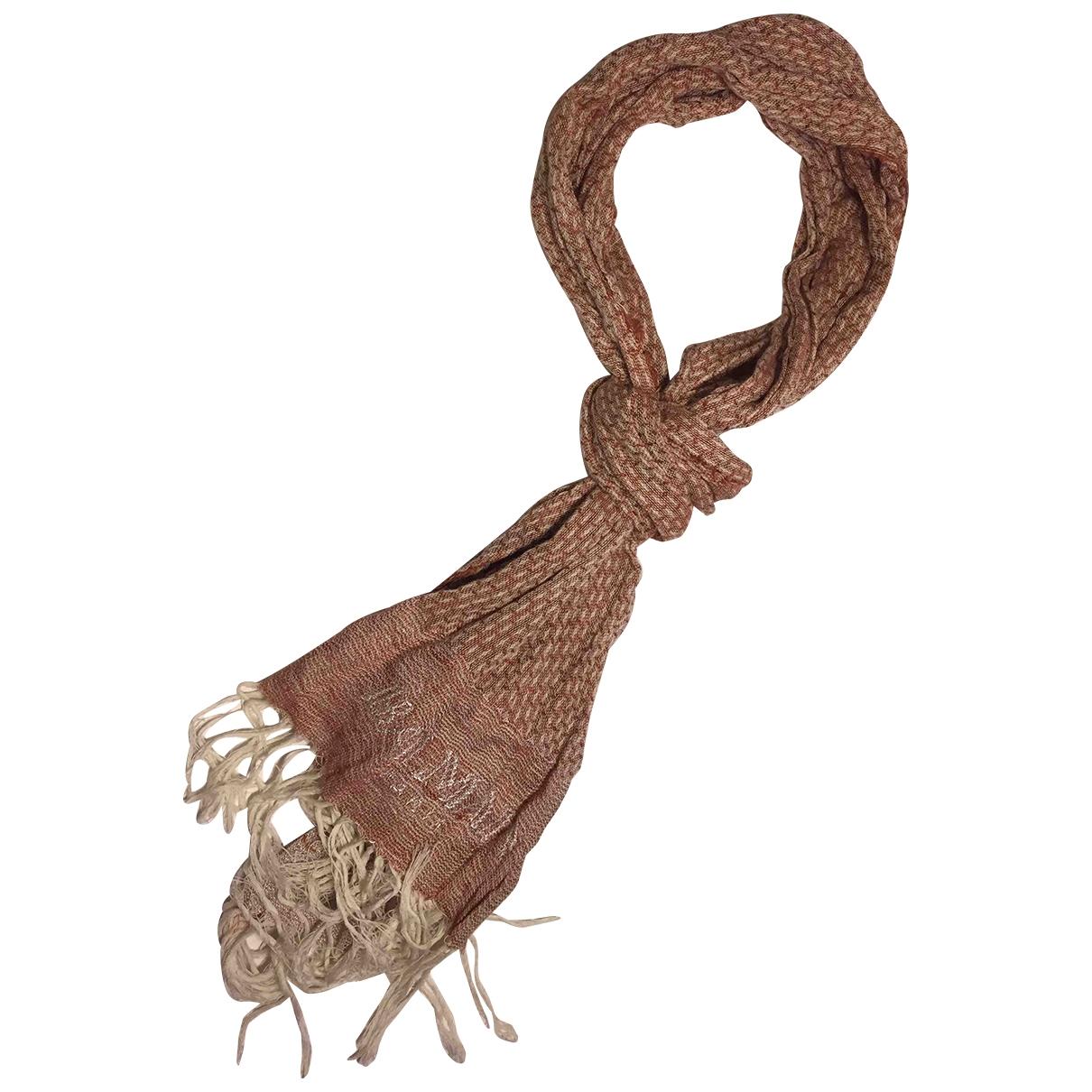 Balmain - Cheches.Echarpes   pour homme en coton - bordeaux