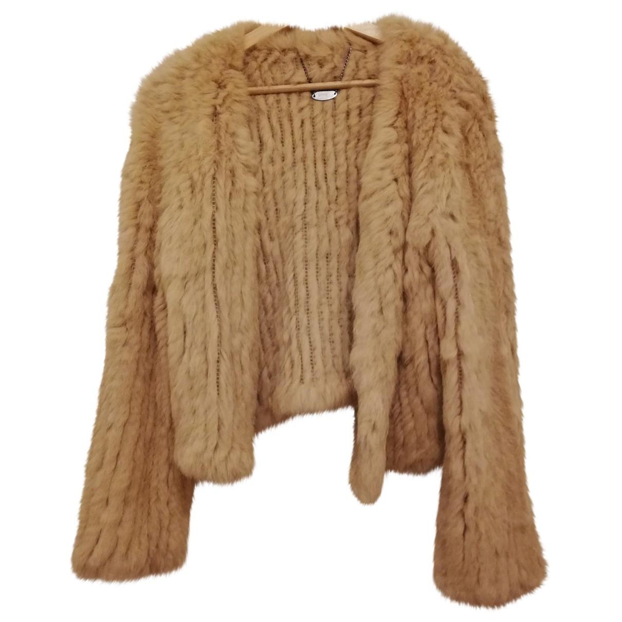 Non Signé / Unsigned \N Rabbit coat for Women S International