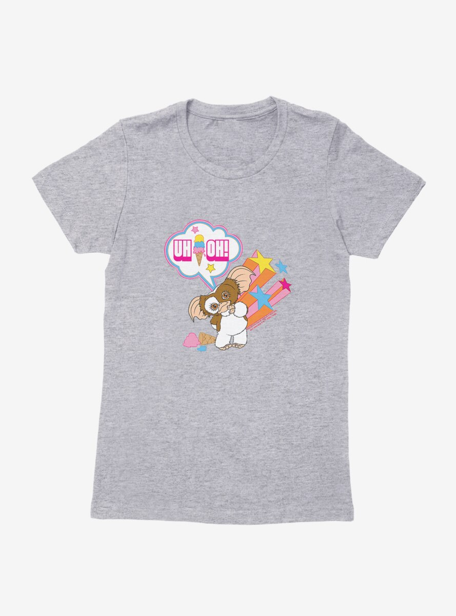 Gremlins Adorable Gizmo Uh-Oh! Womens T-Shirt